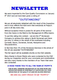 Poppys Homecare Newsletter